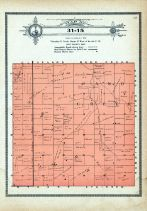 Township 31 Range 15, Sand Creek, Stuart, Holt County 1915
